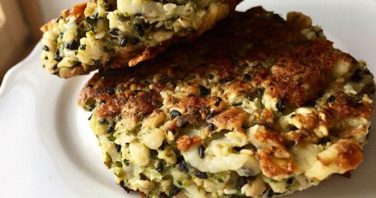 [Vegetarisch] Haferflocken-Brokkoli-Bratlinge