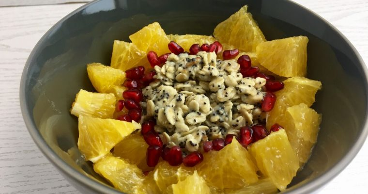 [Porridge] Mohn-Marzipan Oats