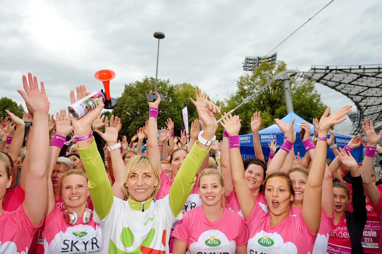 [Laufen] Der Barmer Women's Run im Arla Skyr VIP Team