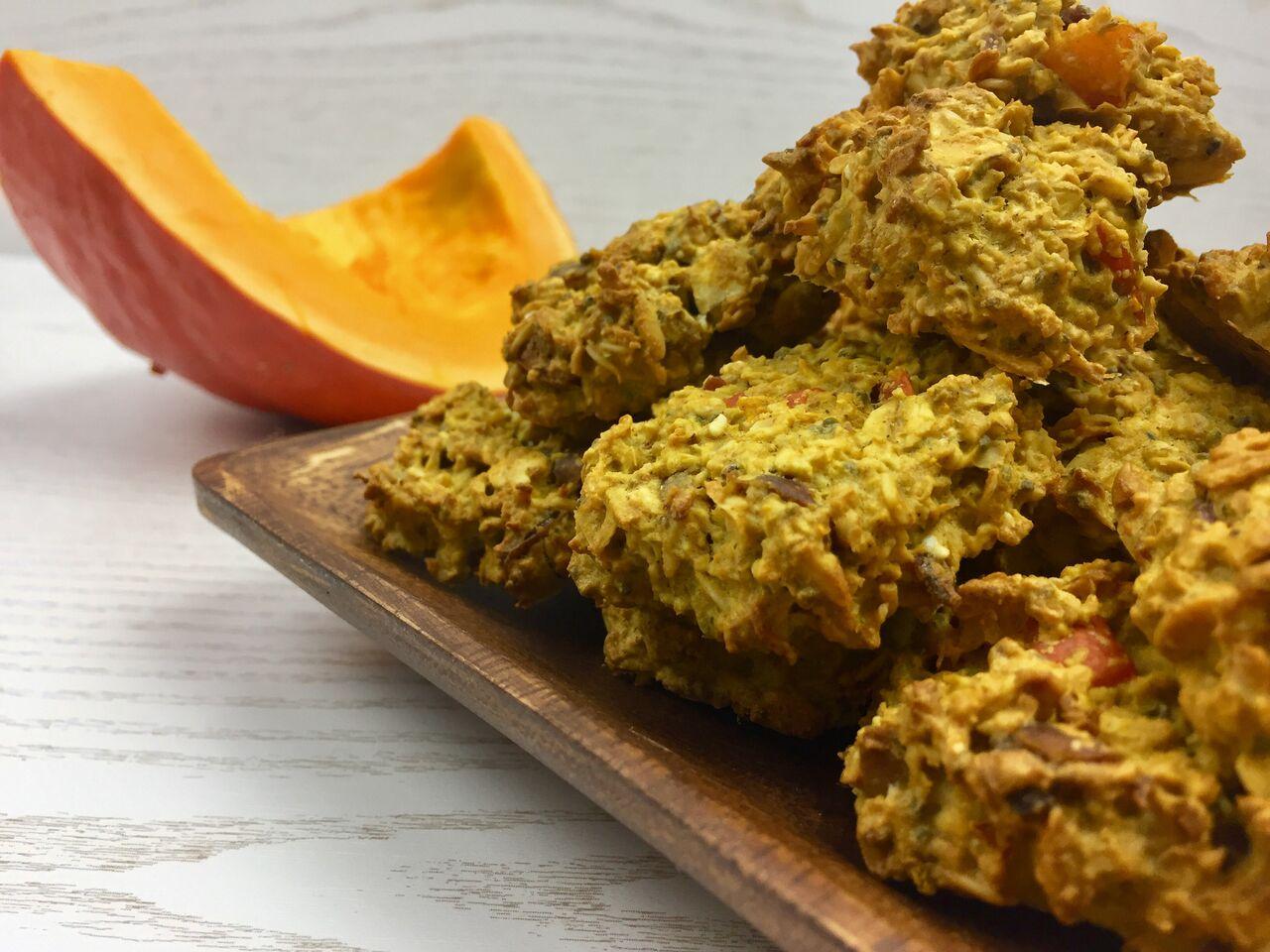 Pumpkin-Oat-Cookies
